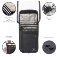 Tactical Travel Anti-theft Rfid Stash Passport Bag Money Wallet Neck Pouch