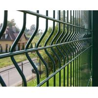 pvc coated garden welded wire mesh vwith triangle bends (munufacturer)