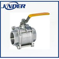 3PC investment casting threaded ball valve