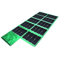 300W Solar Panel Charger Foldable with Controller for Camping thumbnail image