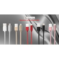 Metal nylon braided cable BW-CA41IP