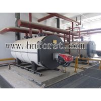High performance oil steam boiler for food industry