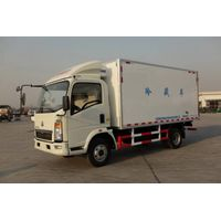 SINOTRUK HOWO 4X2 Refrigerator Van Truck for sale-ZZ1047D3614C145