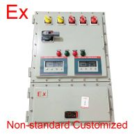IEC Standard Explosion Proof Motor Starter / Stop Switch Box For The Dangerous Sites