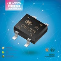 DB107S is the mini bridge rectifiers diode packed by DBS case