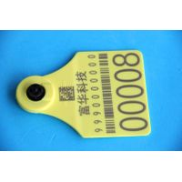 Animal cattle electronic ear tag with ICAR certicificate