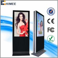 HQ42ESD-1 42 inch double sided led screen with multi media video ad players thumbnail image