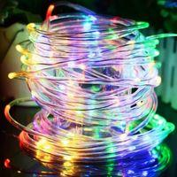 Waterproof 33ft/10M LED String Lights Copper Fairy led Lighting USB Powered Christmas Decoration thumbnail image