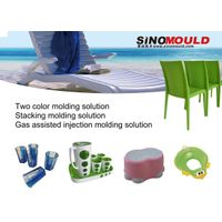 bi-color cup injection mold