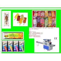 High speed ice cream bar wrapping machine thumbnail image