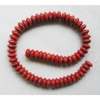 Sponge Coral Beads,8x10mm Rondelle thumbnail image