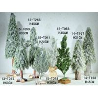artificial tree and chistmas tree