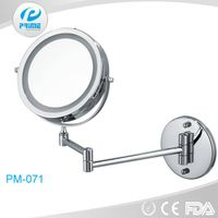 8.5 inch wall mounted led lighted bathroom mirror