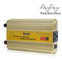 600W Power Inverter Pure Sine Wave AC converter Car Inverters Power Supply AC Adapter Car Charger thumbnail image