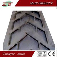 Chevron/Patterned Conveyor Belt Used in sand