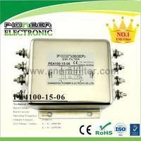 PE4100-15-06 15A 250V/440VAC servo control low pass shieleding filter