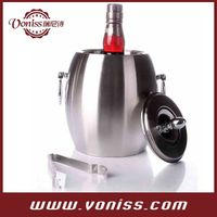 Drum Shape Creative Euro Top Grade Ice Barrel Ice Stones Container Whisky Beer Cooler Bar Tools Wine