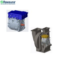 31KW 120Nm electric ev fan oil water pump motor with controller for electric vehicle sanitation thumbnail image