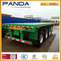 Pandamech flatbed semi trailer