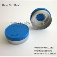 32mm flip top cap