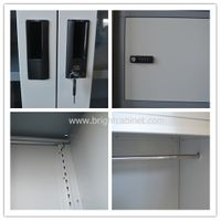 BC-20 metal filing cabinet large wide combination locker cupboard china factory oem production thumbnail image