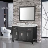 Hangzhou Bathroom cabinet modern wood bathroom furniture A5054