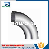 Sanitary Stainless Steel Long 90 degree Elbow thumbnail image