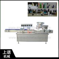 Automatic bottle filling and capping machine for cosmetic spray