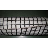 Biaxial geogrid 30/30kN/m with 150g nonwoven geotextile for ground stabilization
