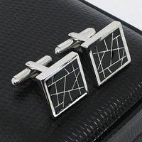 men's stainless steel cufflinks