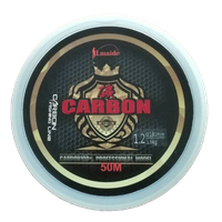 Wholesale price fluorocarbon fishing line Super Strong fluorocarbon fishing line 2lb - 29lb