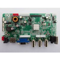 CCTV Monitor BNC Driver Board With VGA/HDMI/USB/BNC/Audio Model JX-V2959-AVM+LED