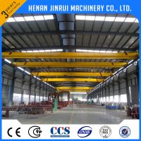 Factory Electric Hoist Remote Control Overhead Shop Crane Specification