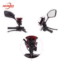 with USB Charger Motorcycle Mobile Phone Holder thumbnail image