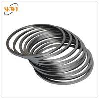 Flexible graphite gaskets/graphite rings