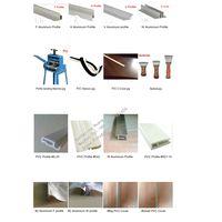 aluminum profile for stretch ceiling film