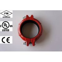 FM UL ULc approved ductile iron grooved coupling and grooved pipe fitting grooved reducing coupling