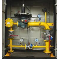 Gas pressure regulator box