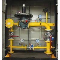 Gas pressure regulator box