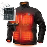 USB Hunting Motorcycle Custom Women Men Solar Mixing Tank Kids Battery 7.4v Heated Jacket thumbnail image