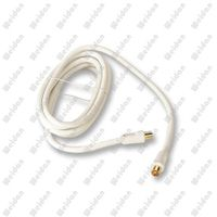 CCTV Hq PAL Coaxial Flylead Rg59 Antenna Cable, 3meter with Gold Plated