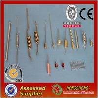 Custom antenna wire spring