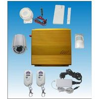 gsm mms home alarm system kit with photo taking function