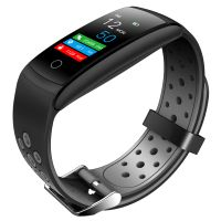 Q8T Temperature Measurement Smart Band heart Rate Monitoring Sports Smart Watch thumbnail image
