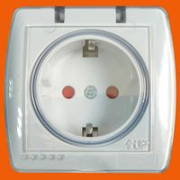 10/16A Schuko Socket Waterproof Outlet (S8510)
