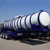 CIMC Sulfuric Acid Tanker Trailer