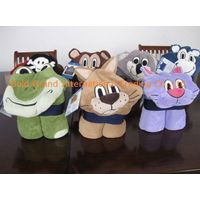 Sell kids cuddly creature throw with hood thumbnail image