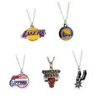 all teams American basketball teams NBA pendant necklace jewelry