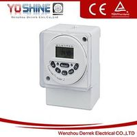 DC24V AC220V Weekly Digital Time Switches
