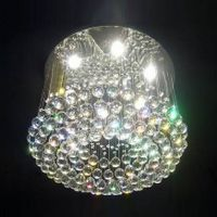 modern Chinese top k9 crystal ceiling light/lamp 6031-6